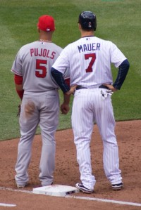 Mauer and Pujols