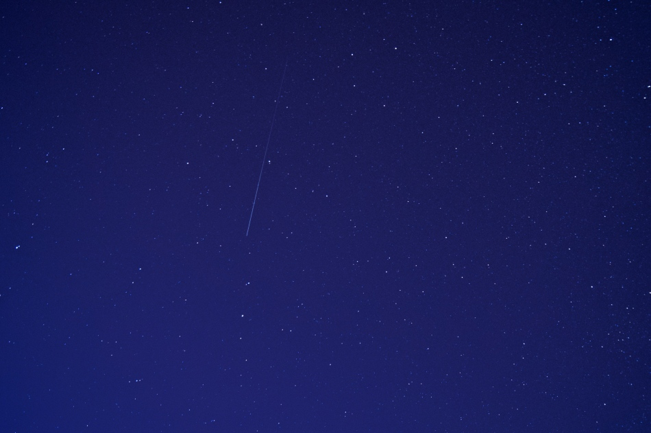 ISS going over